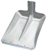 Aluminium shovel